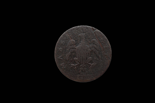 1788 MASSACHUSETTS ONE CENT COIN