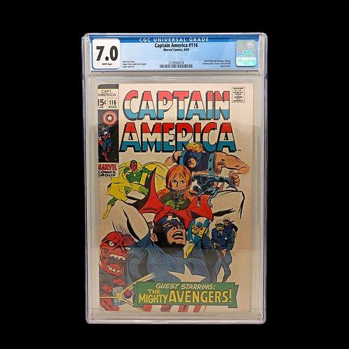 Captain America - 7.0 Grade Comic