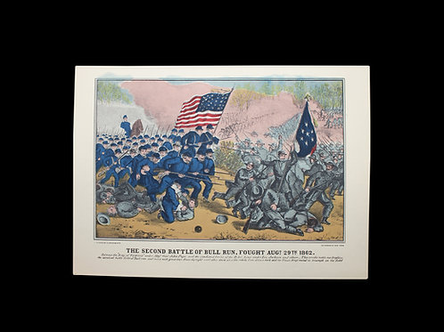 The Second Battle of Bull Run Poster