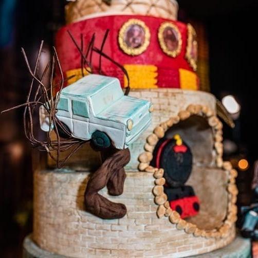 Detalhe do bolo