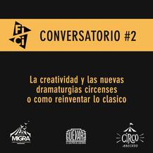 Flyer Conversatorio #2