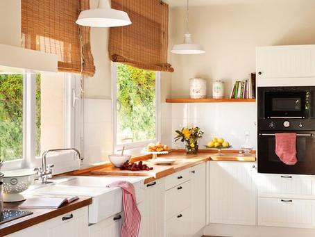 3 grandes ideas para transformar tu cocina en un espacio ideal.