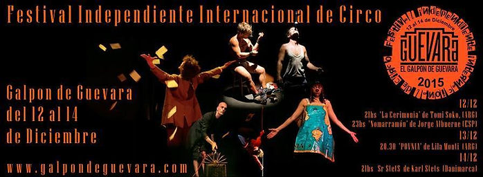 Festival Interncional de Circo Independiente 2015