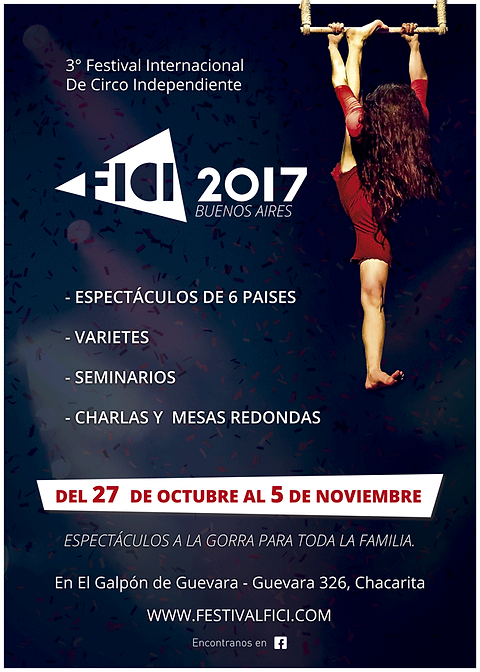 Festival Internacional de Circo Independiente 2017
