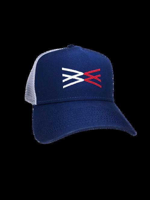 Wingman New Era Hat (Red,White,Blue)