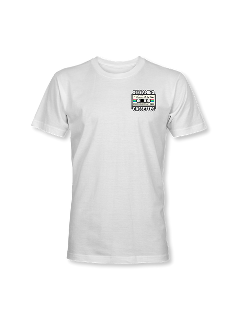 Streaming Cassettes T-Shirt