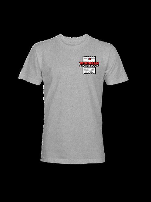 Wingman Sportsbook Logo Tshirt