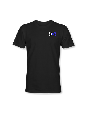 Wingman Black And Blue T-Shirt