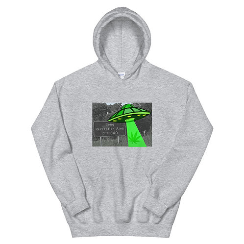 Bong Rec UFO Unisex Hoodie