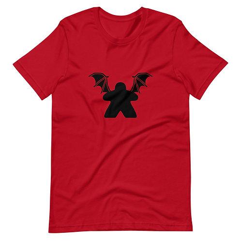Bat Meeple Short-Sleeve Unisex T-Shirt
