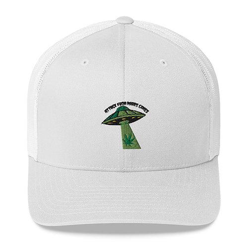 Weed UFO Trucker Cap