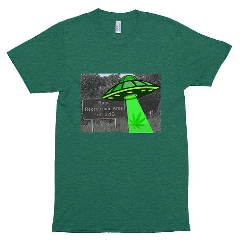 Bong Rec UFO Unisex Tri-Blend Track Shirt