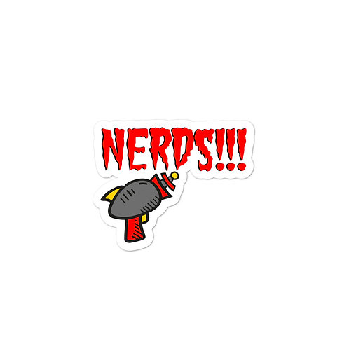 Nerd Blaster AFMG Twitch Bubble-free stickers