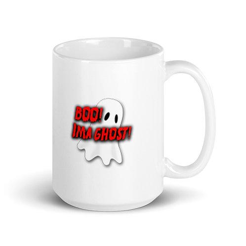 Boo IMA Ghost AFMG Twitch Mug