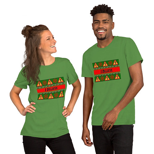 """I Beliveve"" AFMG Short-Sleeve Unisex T-Shirt"