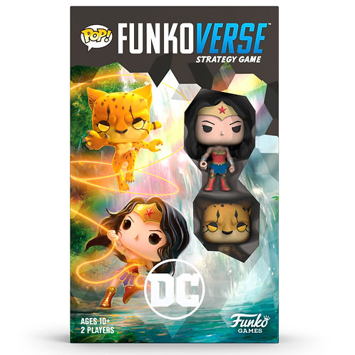 POP Funkoverse English board game DC Comics Wonder Woman 2ps