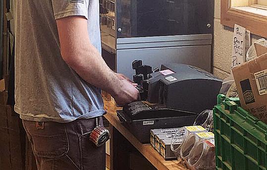 Kenny Making Keys.