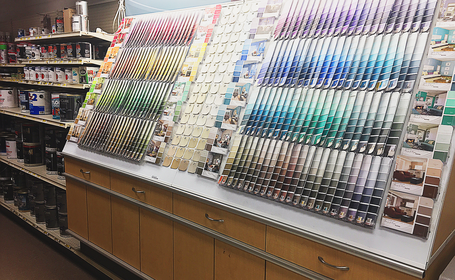 Paint Section.