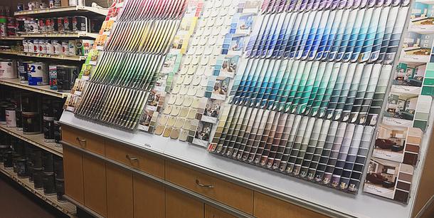 Paint Section.