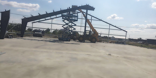 New Building Progress.