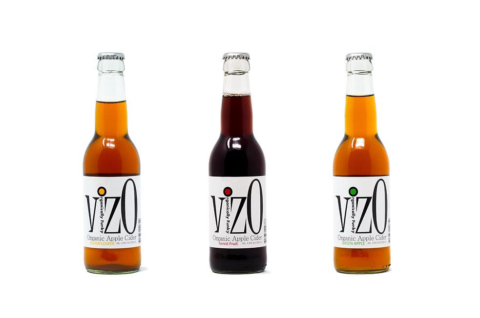 VizO Organic Apple Cider #organiccider