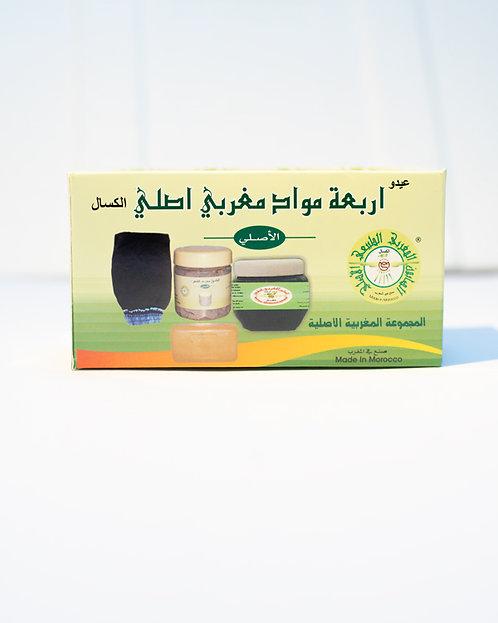 طقم الصابون المغربي الاصلي Moroccan Original Soap Soap