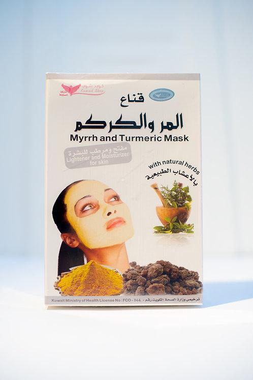 قناع المر والكركم Myrrh and Turmeric Mask 150g