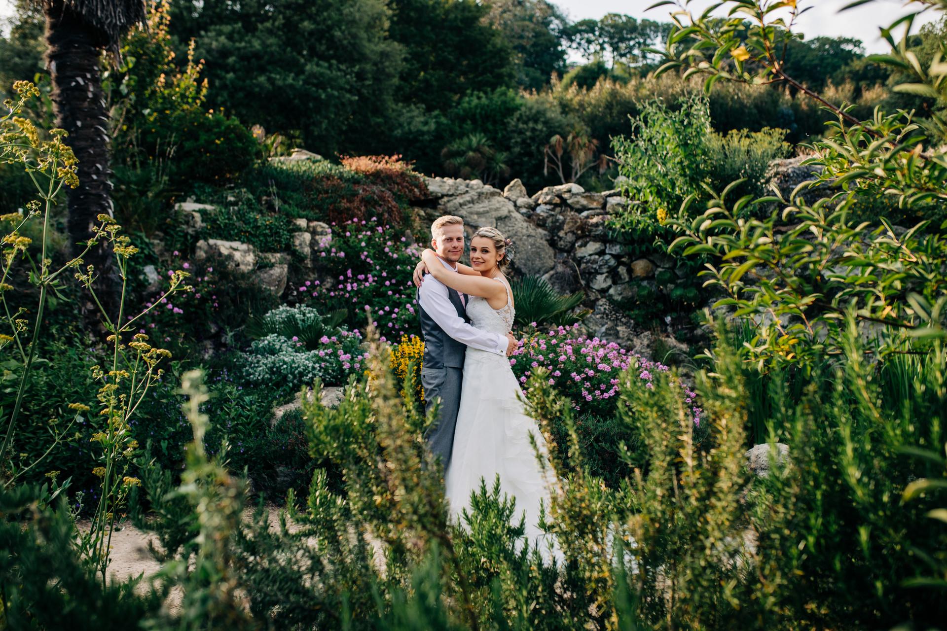 Ventnor Botanic Garden Wedding Isle of Wight