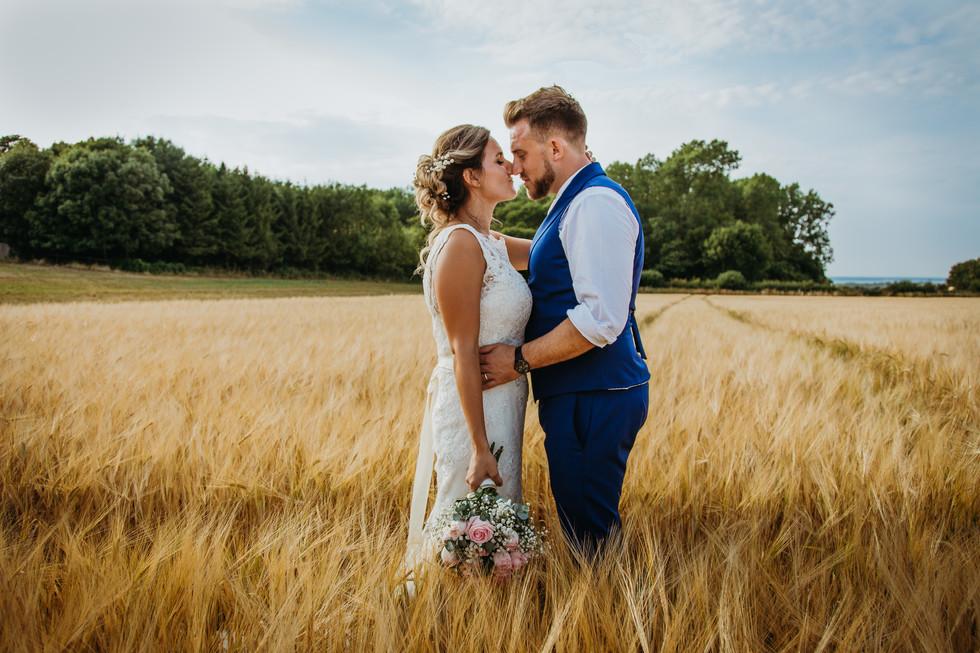 New Barn Farm Wedding Isle of Wight
