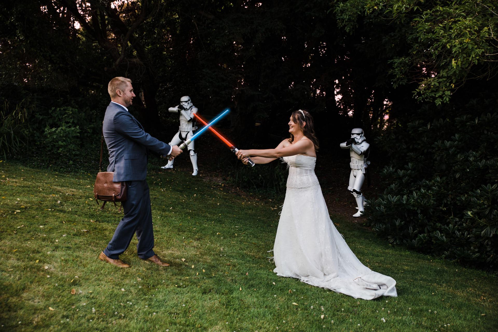 Star Wars Wedding Isle of Wight