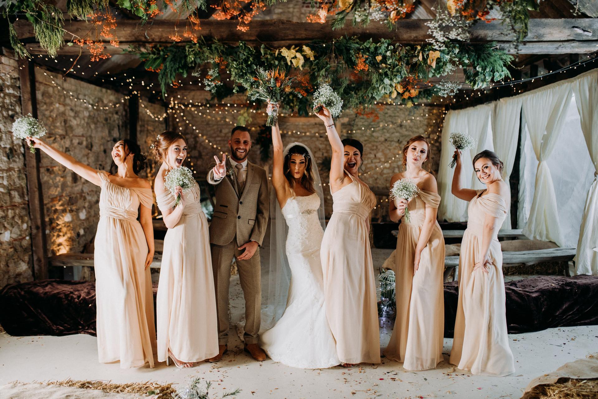 East Afton Farmhouse Wedding Isle of Wight