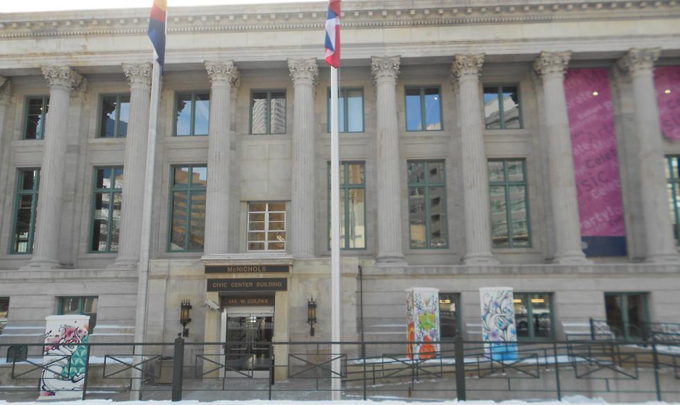 McNichols Building in Civic Center Park