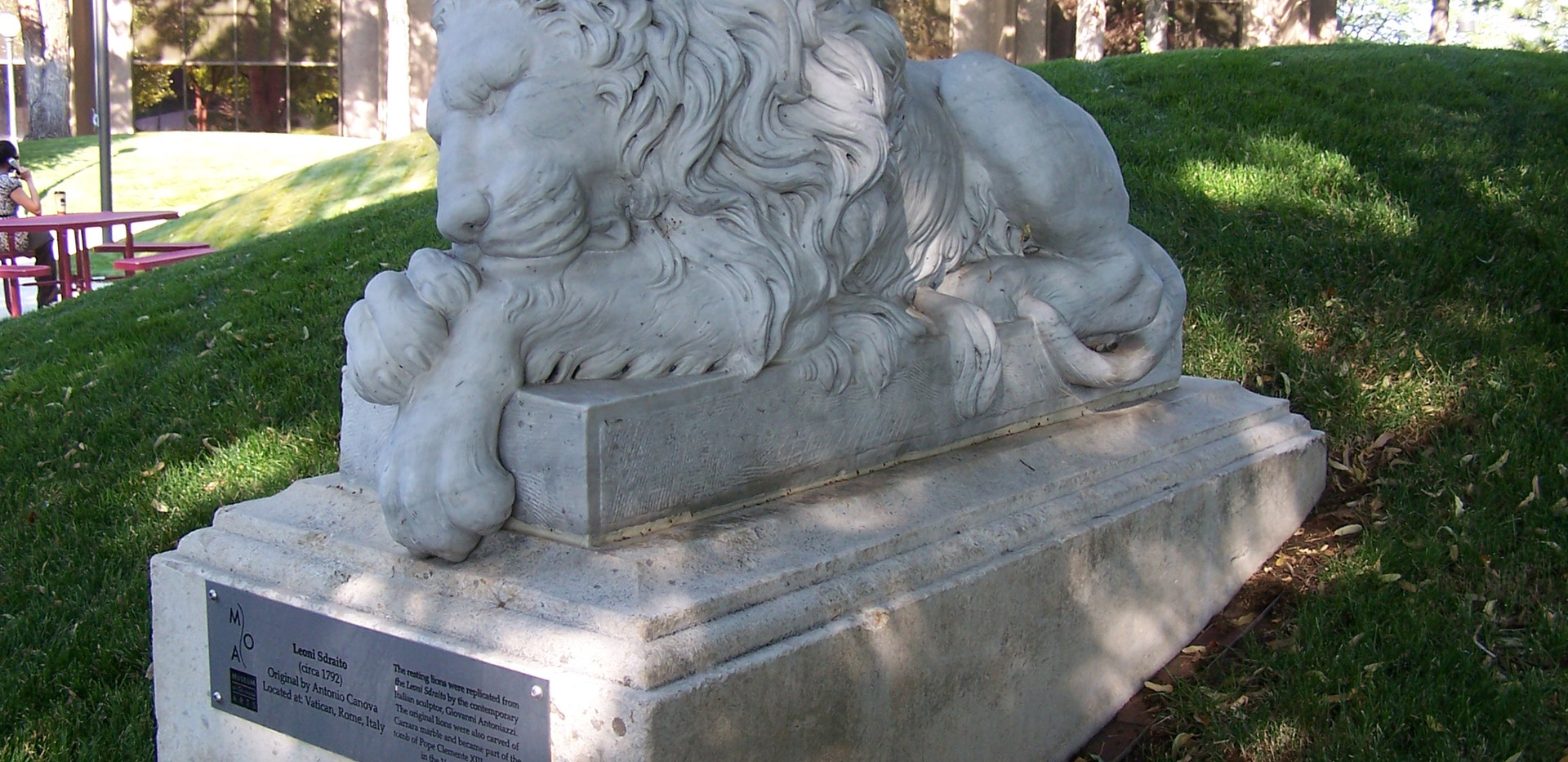 The Resting Lion