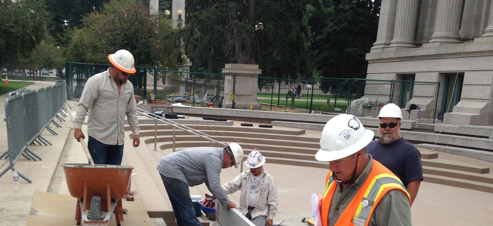 McNichols New Granite Steps