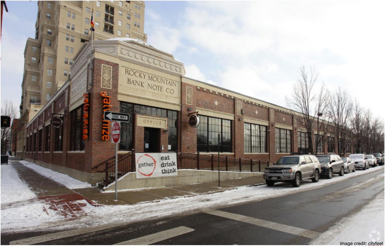 Rocky Mountain Bank Note Co Building, Galvanize