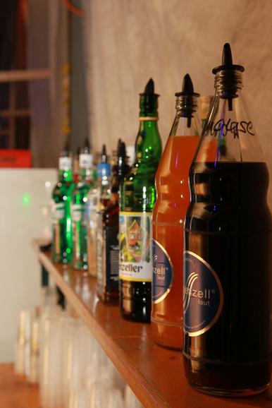 sahnemaus bar view