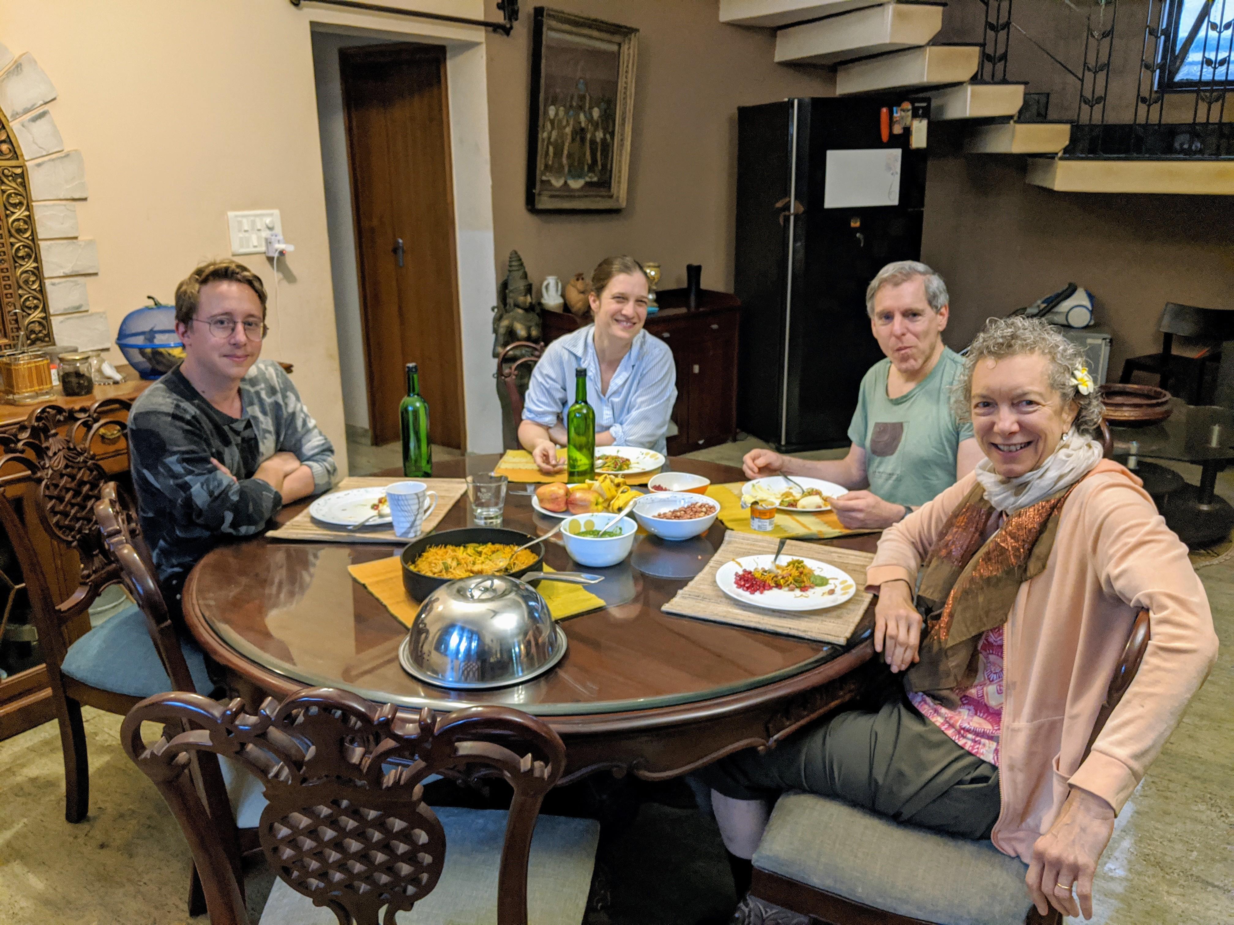 Dinner time in Mi Casa