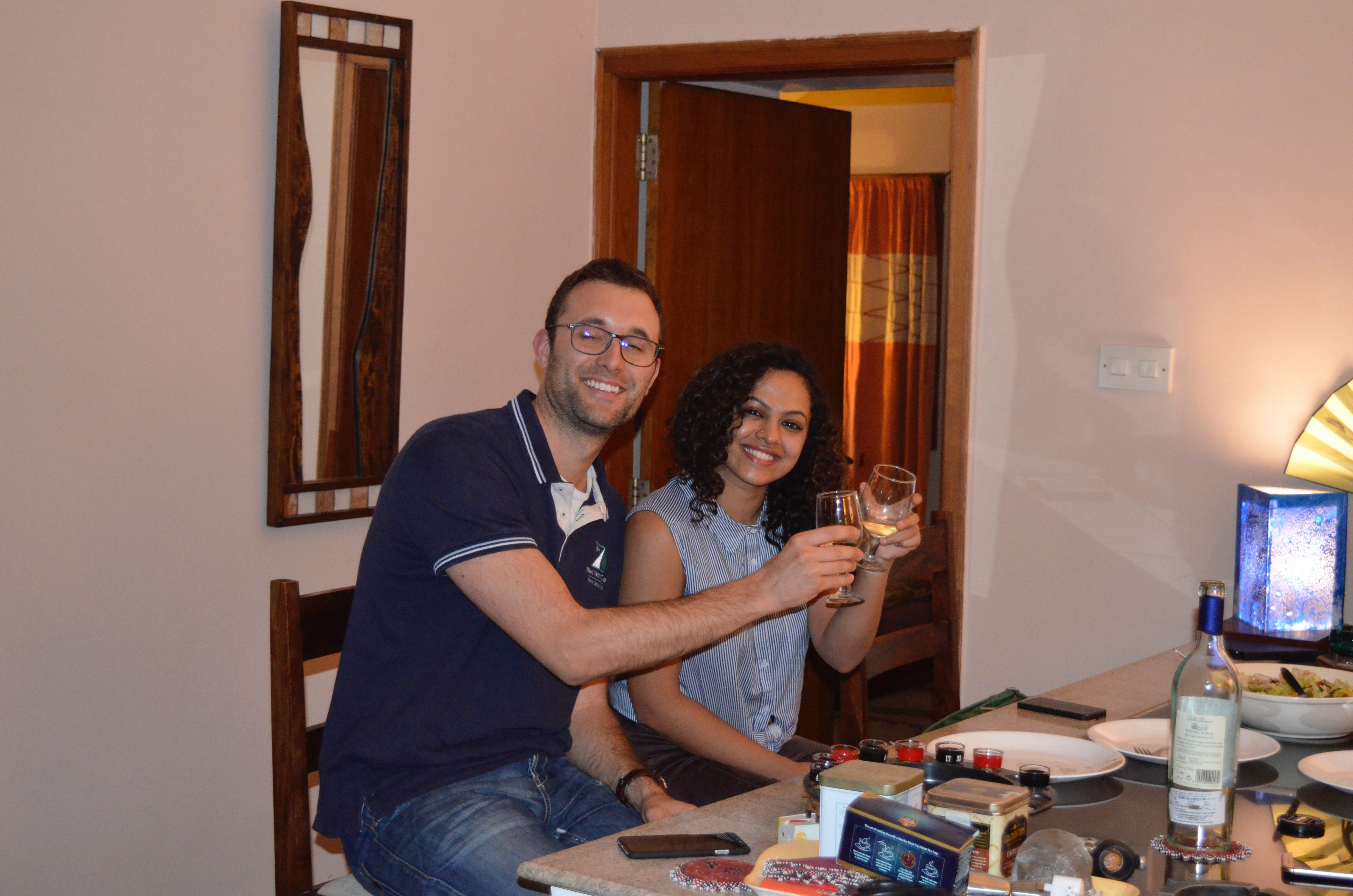 Wine & Dine at the best Homestay