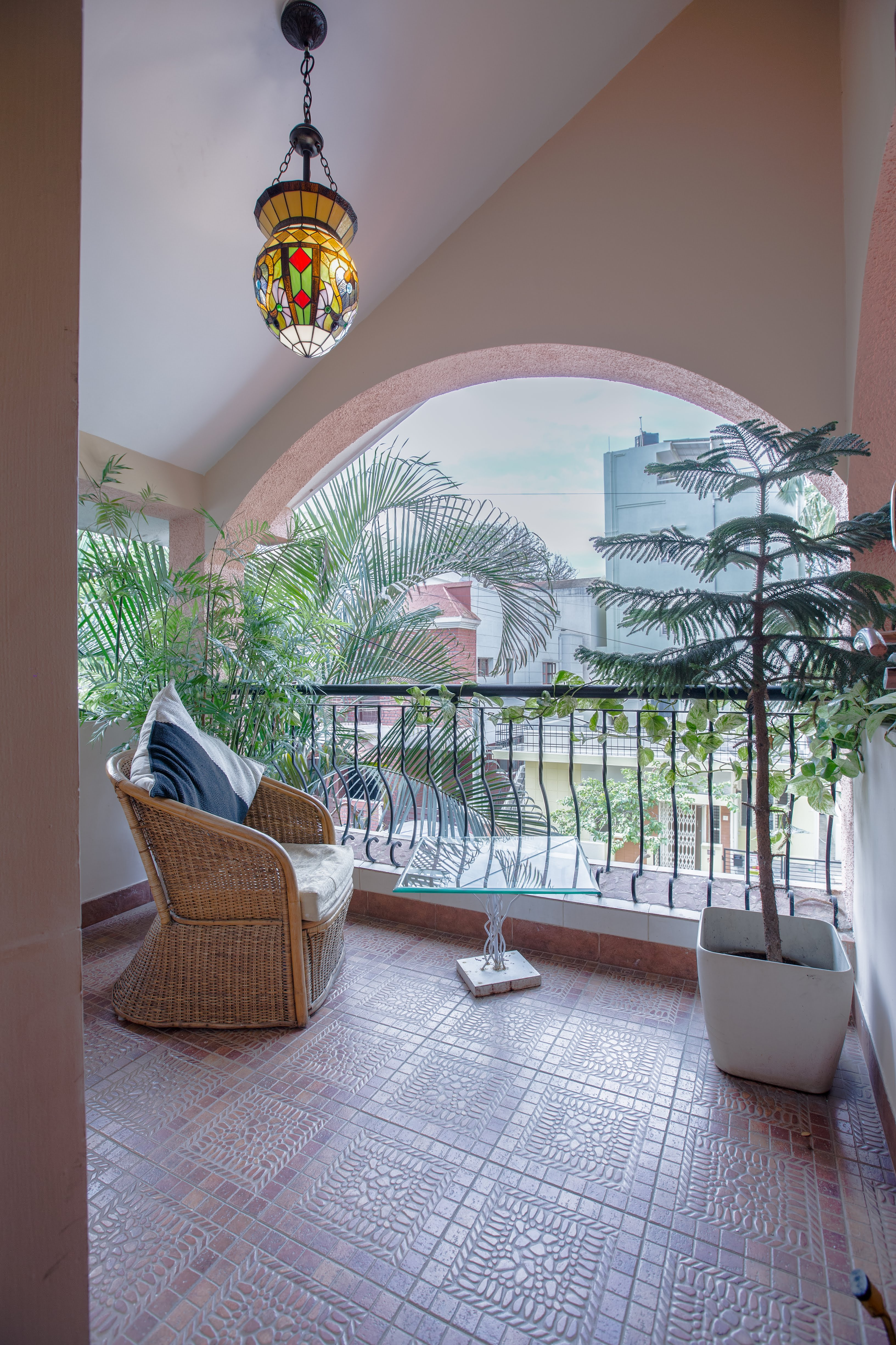 Your private balcony in Casablanca