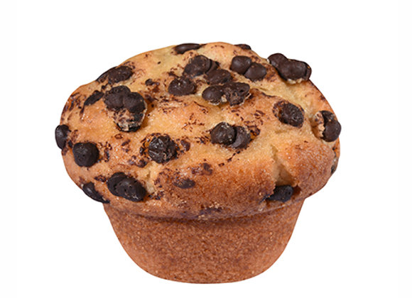 Muffins Chips de Chocolate (12 unidades)