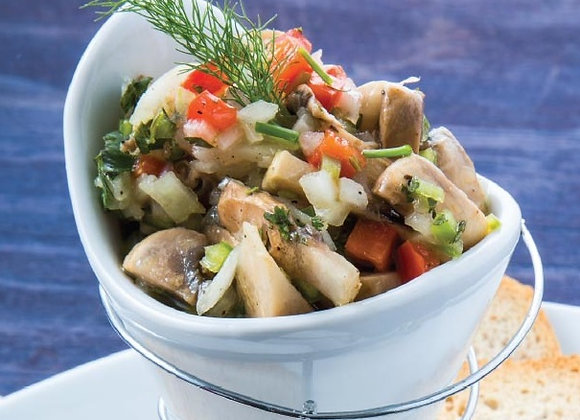 Ceviche de Champiñones (300 gr)