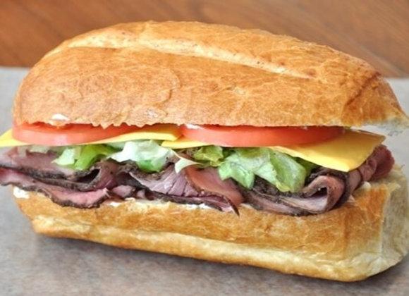 Sándwich Roast Beef a la Mostaza (unidad)