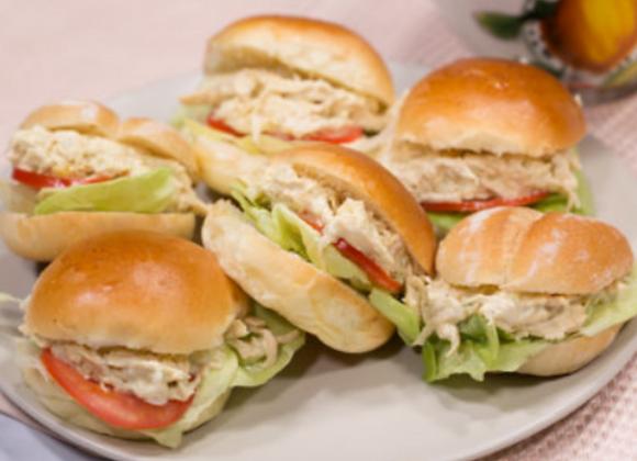 Mini sándwich Pavo en su salsa (12 unidades)