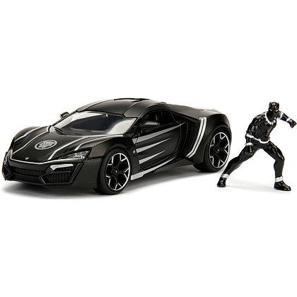 Black Panther + Lykan Hypersport