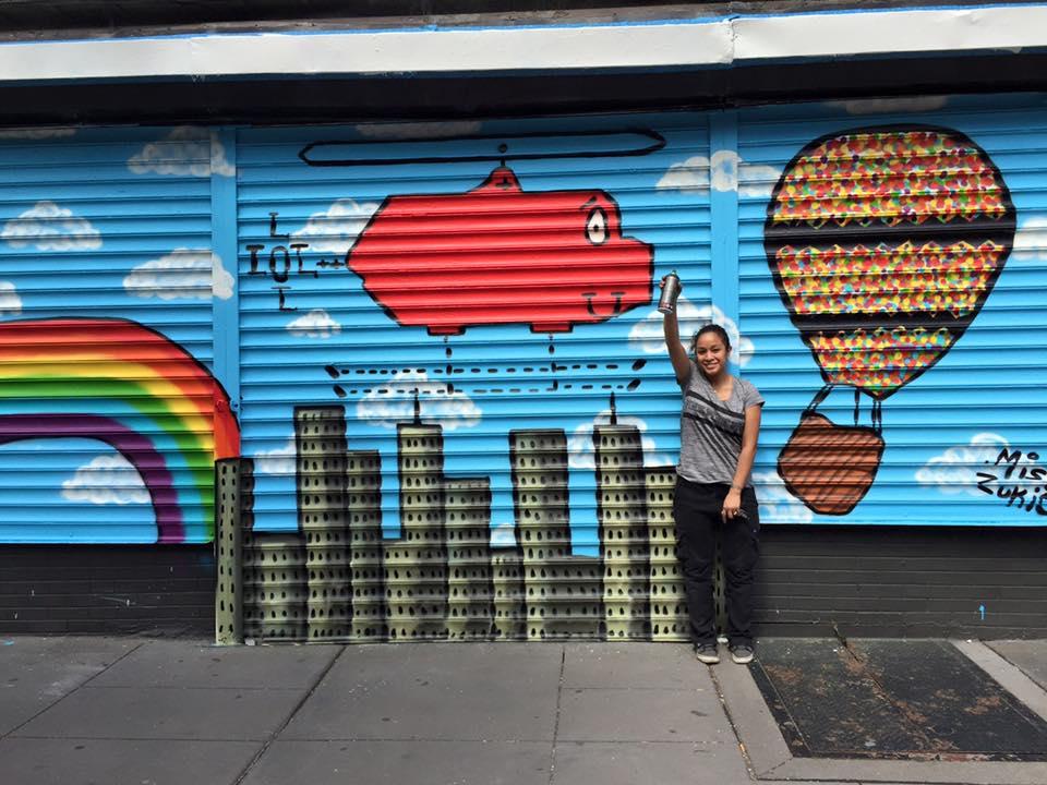 Roflcopter Gate Art and Artist Zukie
