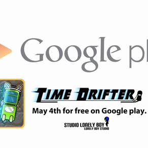 Time Drifter est lancé! - Time Drifter is launched!