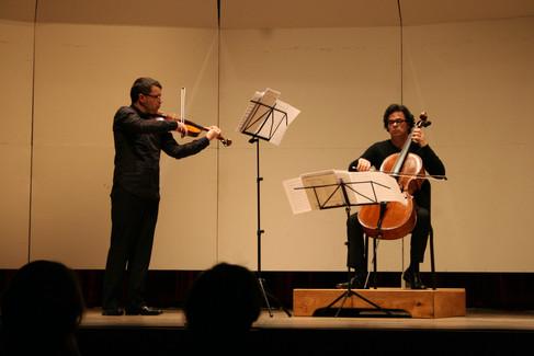 with Carlos Paul Rondón