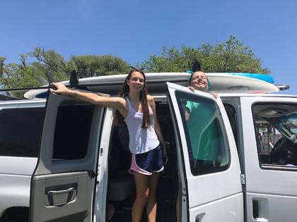 Kids Camping Van