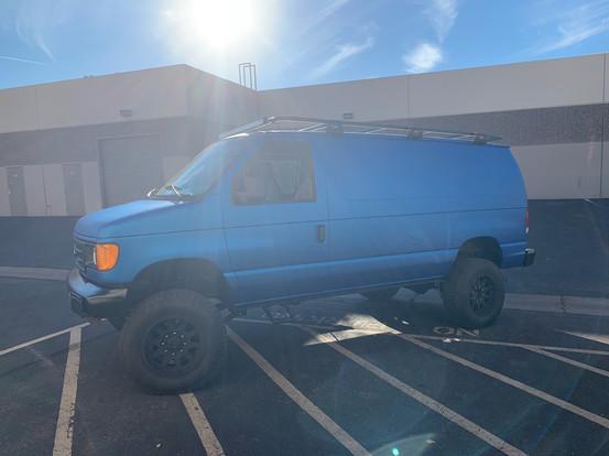4x4 Van with Wrap
