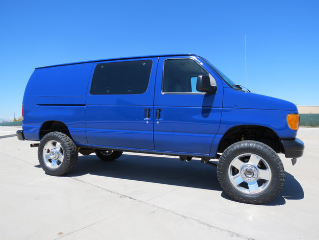 2005 Ford E-250 Cargo Timberline 4x4 Van